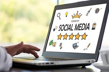 social media content writing
